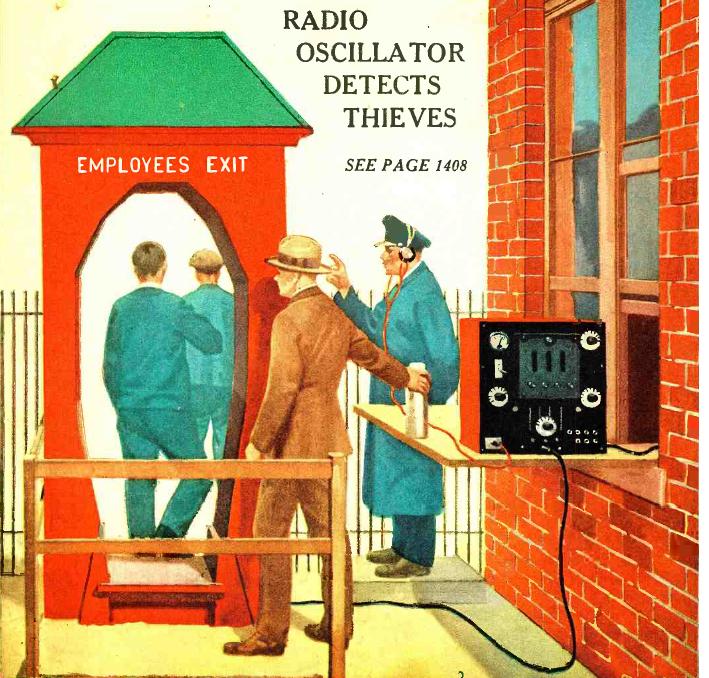 Инженерное изобретение «Радиодетектив». 1926 год.